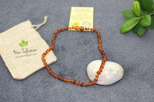 Collier ambre naturel