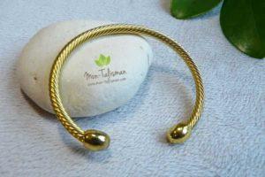 Bracelet magnétique pour maigrir Or