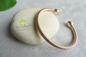 Bracelet magnétique pour maigrir Or Rose