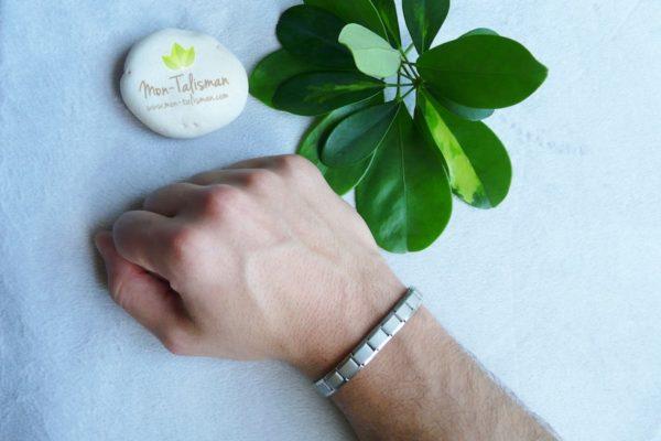 bracelet magnétique homme Mon-Talisman