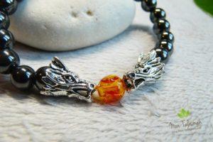 Bracelet dragon pour homme