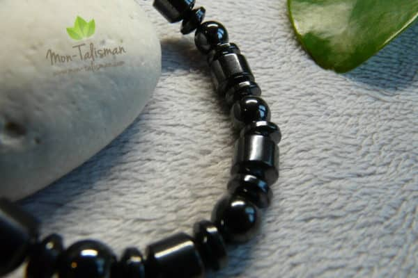 bracelet magnétique noir 2