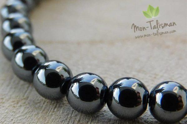 bracelet hematite mon-talisman