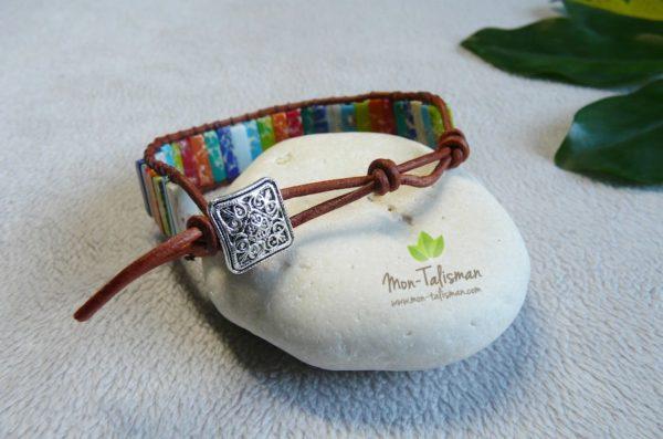 bracelet bouddha multicolore mon-talisman