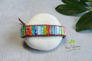 Bracelet bouddha multicolore